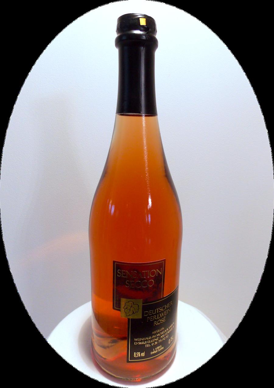 2015 sensation Secco Rosé